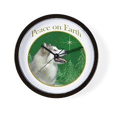 Malamute Peace Wall Clock