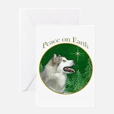 Malamute Peace Greeting Card