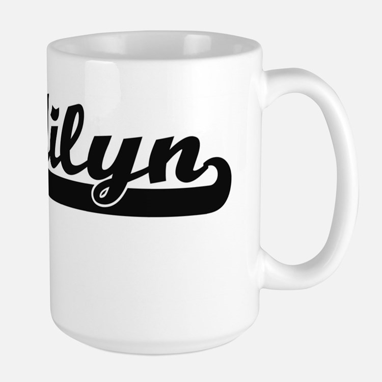 Madilyn Classic Retro Name Design Mugs