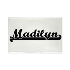 Madilyn Classic Retro Name Design Magnets