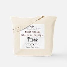 Unique Texan Tote Bag