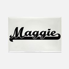 Maggie Classic Retro Name Design Magnets