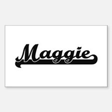 Maggie Classic Retro Name Design Decal