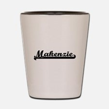 Makenzie Classic Retro Name Design Shot Glass