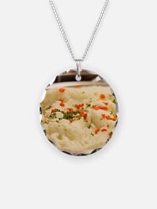 Mashed Potatoes Necklace