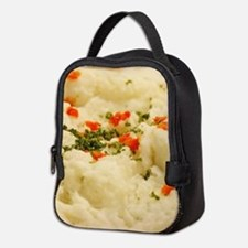 Mashed Potatoes Neoprene Lunch Bag