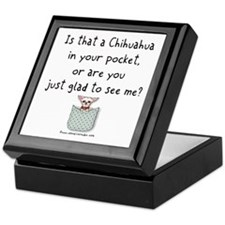 Chihuahua in your Pocket Keepsake Box