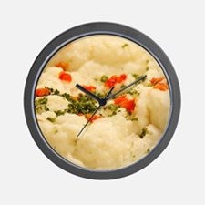 Mashed Potatoes Wall Clock