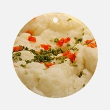 Mashed Potatoes Ornament (Round)