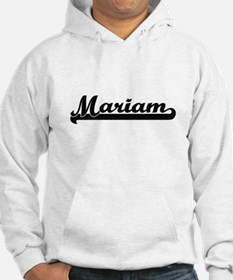 Mariam Classic Retro Name Design Hoodie Sweatshirt
