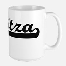Maritza Classic Retro Name Design Mugs
