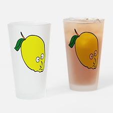 Lemon Head Drinking Glass