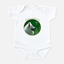 Eskimo Dog Peace Infant Bodysuit