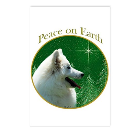Eskimo Dog Peace Postcards (Package of 8)
