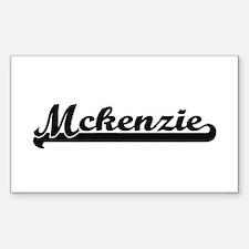 Mckenzie Classic Retro Name Design Decal
