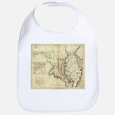 Vintage Map of Maryland (1796) Bib