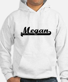 Megan Classic Retro Name Design Hoodie