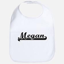 Megan Classic Retro Name Design Bib