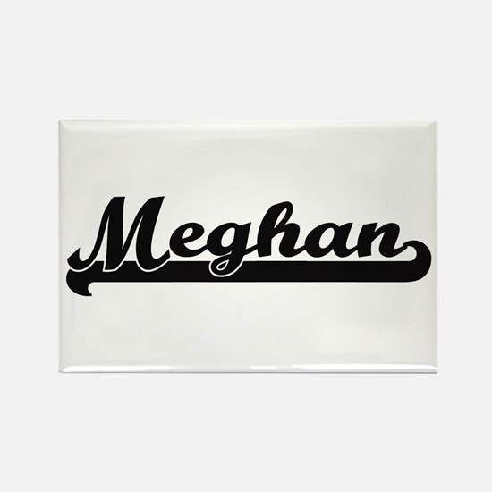Meghan Classic Retro Name Design Magnets