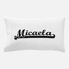 Micaela Classic Retro Name Design Pillow Case