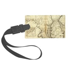 Vintage Map of Maryland (1796) Luggage Tag