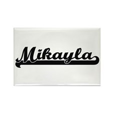 Mikayla Classic Retro Name Design Magnets