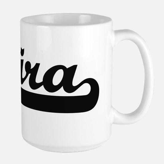 Mira Classic Retro Name Design Mugs
