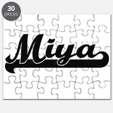 Miya Classic Retro Name Design Puzzle