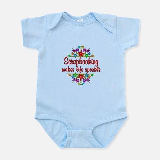 Scrapbooking Sparkles Infant Bodysuit