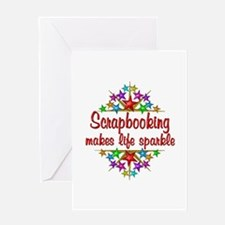 Scrapbooking Sparkles Greeting Card