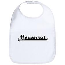 Monserrat Classic Retro Name Design Bib