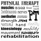 Physical therapy Wrapped Canvas Art