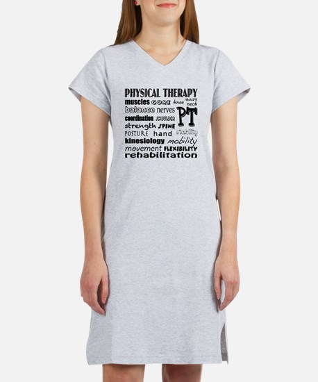 Cute Physical therapy Women's Nightshirt