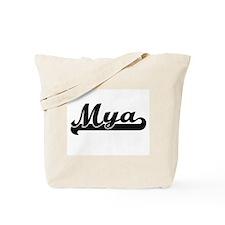 Mya Classic Retro Name Design Tote Bag