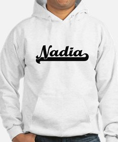 Nadia Classic Retro Name Design Hoodie Sweatshirt
