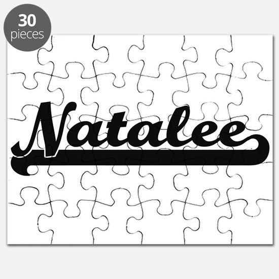 Natalee Classic Retro Name Design Puzzle