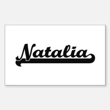 Natalia Classic Retro Name Design Decal