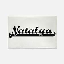 Natalya Classic Retro Name Design Magnets