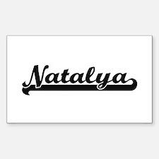 Natalya Classic Retro Name Design Decal