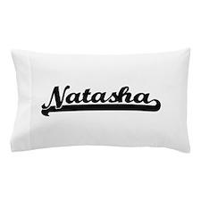 Natasha Classic Retro Name Design Pillow Case