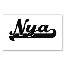 Nya Classic Retro Name Design Decal