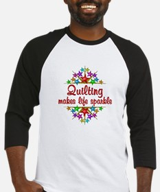 Quilting Sparkles Baseball Jersey