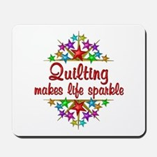 Quilting Sparkles Mousepad