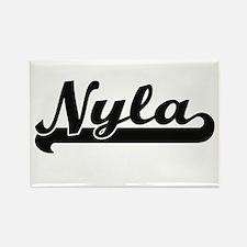 Nyla Classic Retro Name Design Magnets
