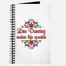 Line Dancing Sparkles Journal