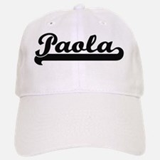 Paola Classic Retro Name Design Baseball Baseball Cap