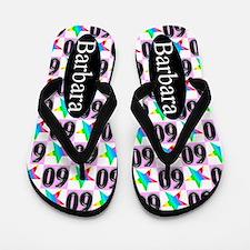 Trendy 60th Flip Flops
