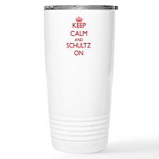 Keep Calm and Schultz O Travel Mug