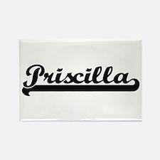 Priscilla Classic Retro Name Design Magnets