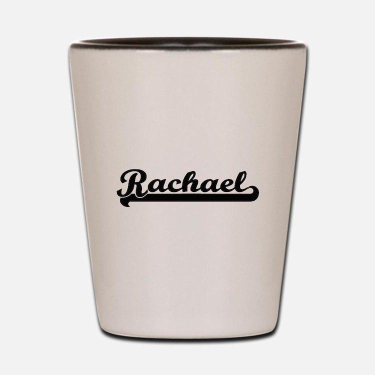Rachael Classic Retro Name Design Shot Glass